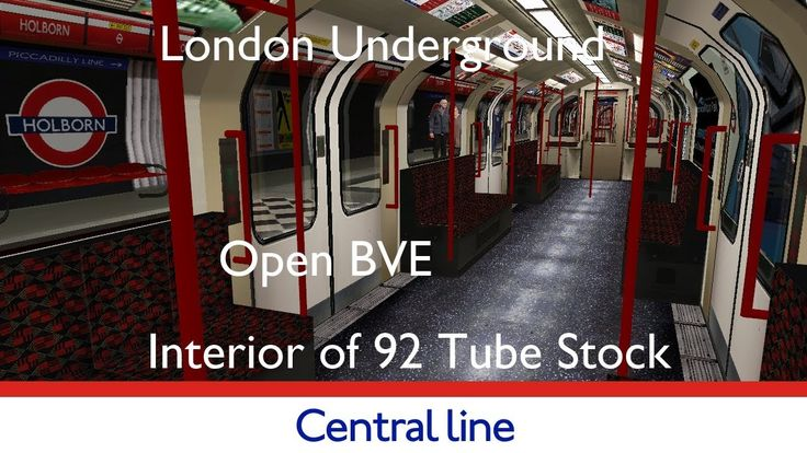 London Underground Simulator Central Line realistic interior #tfl #tube #londonunderground #london #simulation #gaming