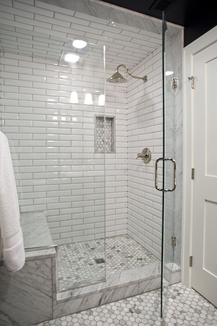 Lower Level Guest Bathroom Remodel By Vivid Interior