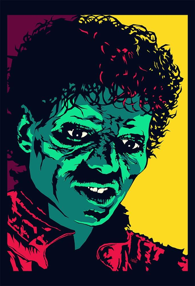 Not Like The Others By Vee Ladwa Michael Jackson Art Horror Movie Art Pop Culture Art