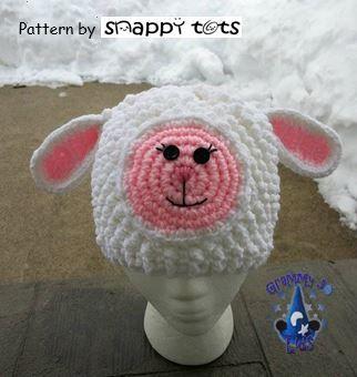 Free Petunia Lambikins Hat Pattern - Snappy Tots