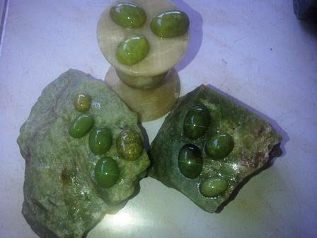 Jual Batu Akik Green Sojol Super