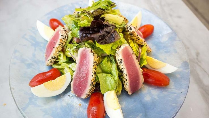 Cibo giapponese, cucina giapponese, ricetta giapponese con tonno