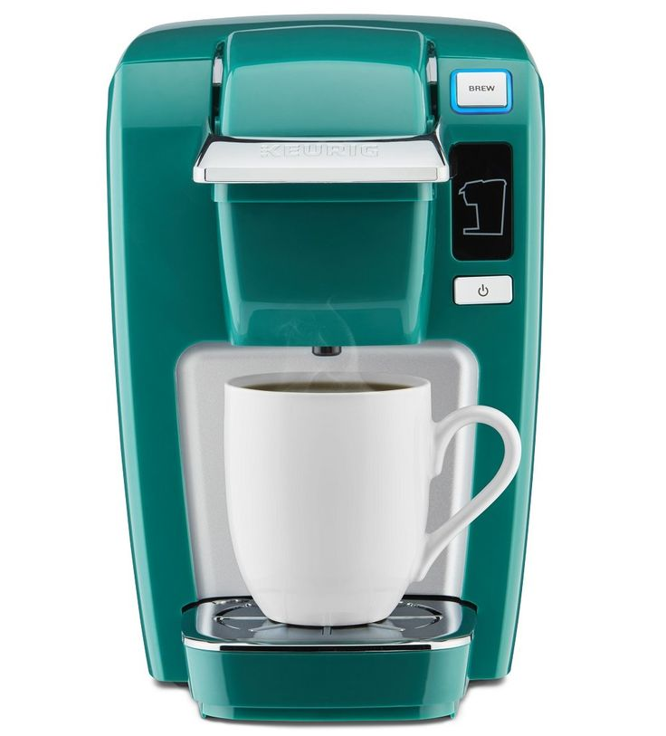Compact Single Serve Home Coffee Maker K Cup Brewer Machine Plastic 48 oz
