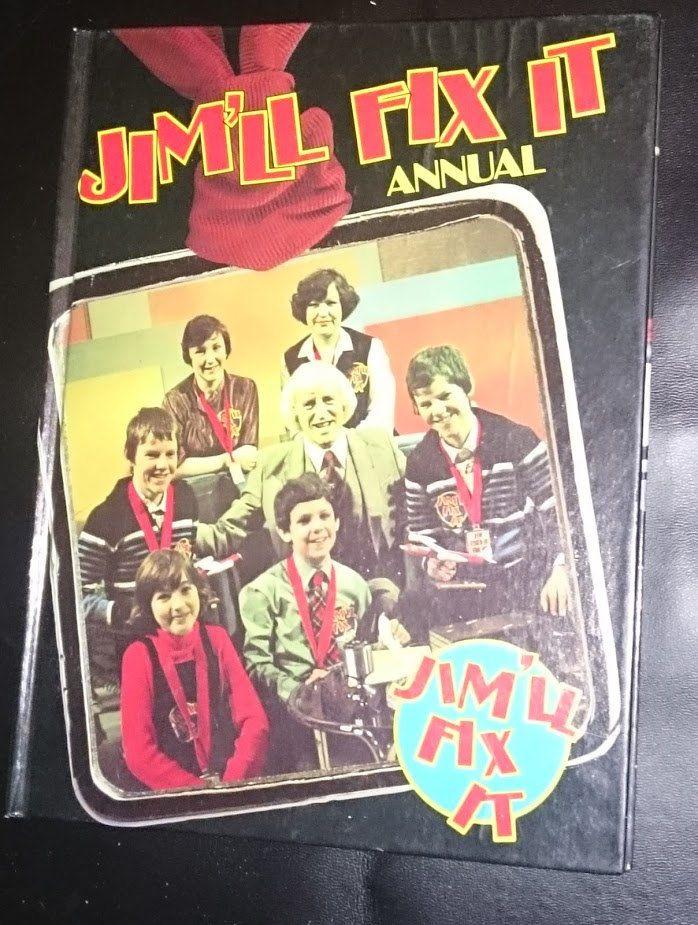 Jim'll Fix It Annual 1980 Jimmy Savile BBC childrens TV British Broadcasting Corporation Purnell Books by bastarduk on Etsy