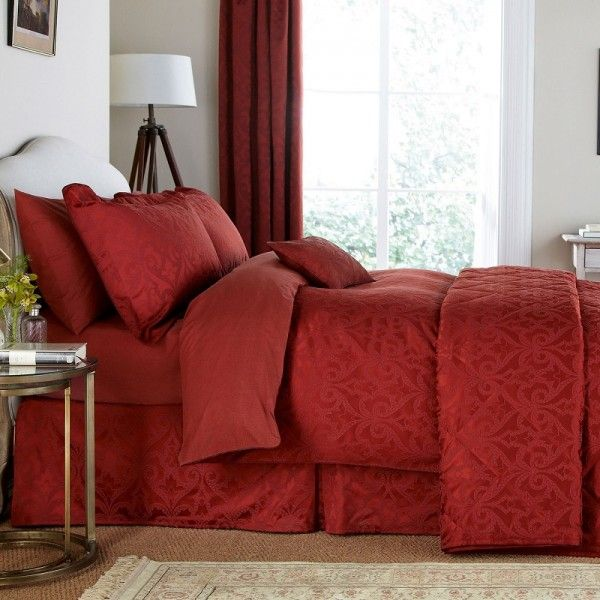 vu0026a moresque red duvet cover