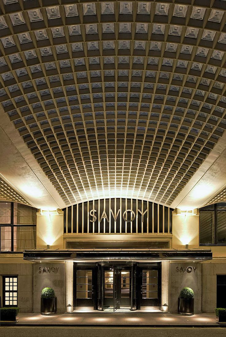 The Savoy, London - Forgotten Futures