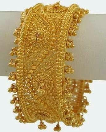 7925c3c0c20a4 25 Latest designs of gold bangles - Kurti Blouse | INDIAN BRIDAL ...