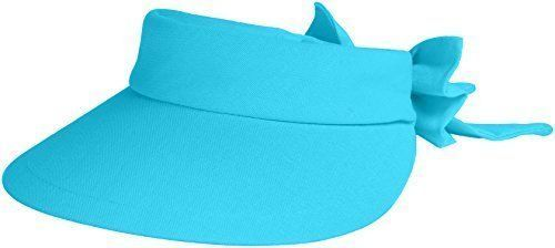 16.82$  Buy here - http://vibll.justgood.pw/vig/item.php?t=r1xd6yw205 - Scala Women's Visor Hat With Big Brim, Turquoise, One Size