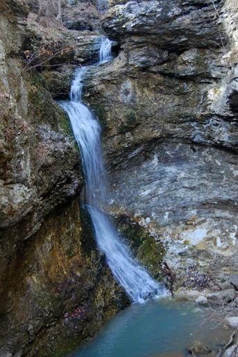 Eden Falls - outside of Clarksville, AR