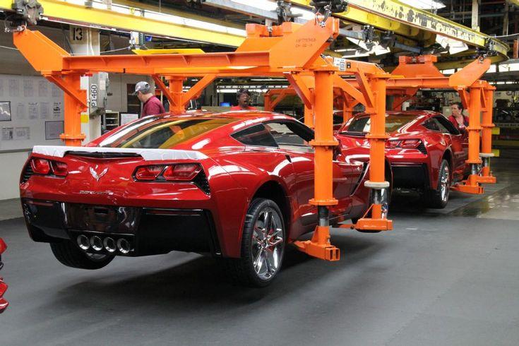 2014 Corvette assembly