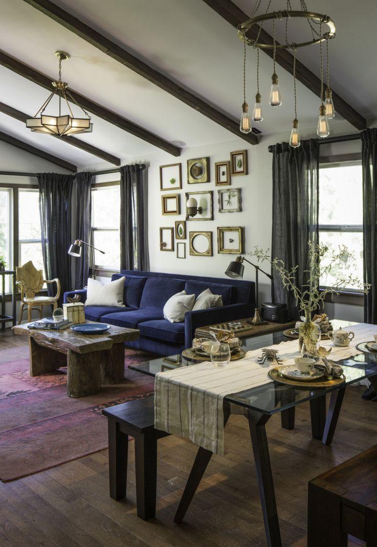"""Pretty Little Liars"" Star Ian Harding's Living Room"