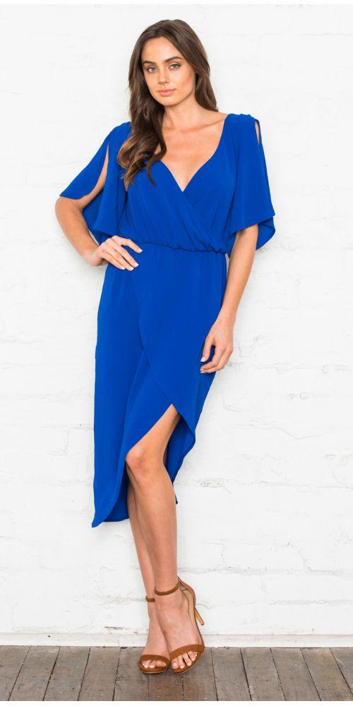 Fresh Soul - Merengue Dress - Cobalt