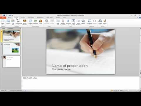 how to add youtube to powerpoint