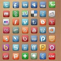 Social Media Icons, Freebies, Webset icons