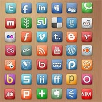 Social Media Icons, Freebies, Webset icons