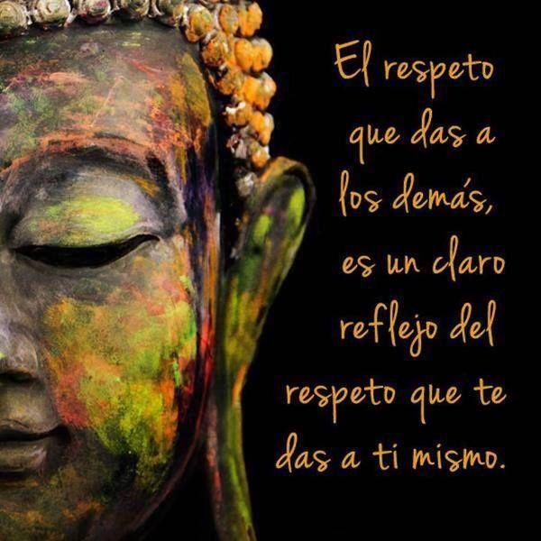 """""""El #respeto que das a los demás es un claro reflejo del respeto que te das a ti mismo"""" #Frases"""