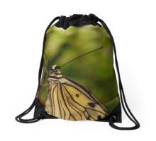 Butterfly's watching Drawstring Bag