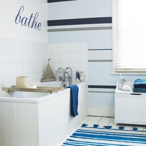 10 More Ideas For Painting Stripes On Walls | Shelterness