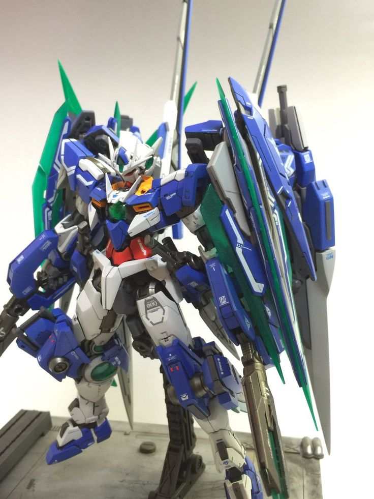 MG 1/100 00 XN Qan[T] XXXSword All Saber 三十斬-全刀- [GBWC 2016 Japan] - Customized Build     Modeled by  えびちゃん@9/10RRM展示会
