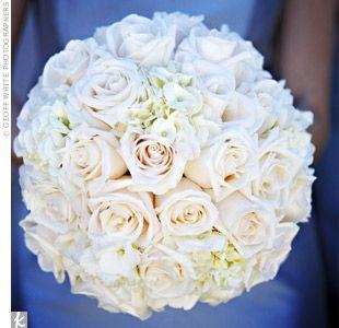 Love the round bouquet