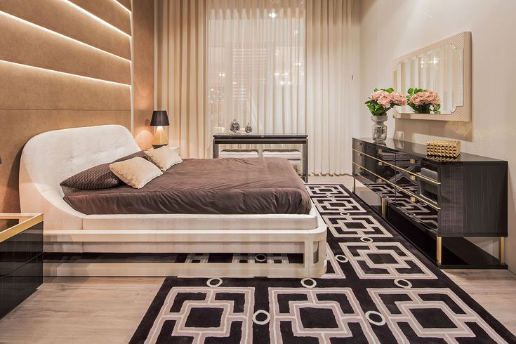 From the other angle, it looks even better, right? Just look at those led panels and how it creates a cozy and elegant mood in the bedroom. You can visit our showroom or visit the website to see more of our products! For more, visit our website: ☛ stylishclub.pt