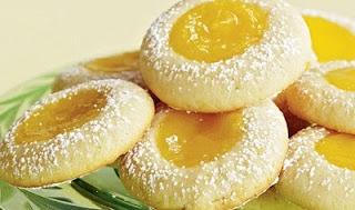 Lemon Dimple Cookies