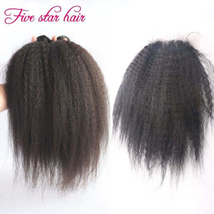 11 best human hair weaving with closures images on pinterest hair organizer on sale at reasonable prices buy factory price kinky straight hair extensions 2 bundles with closure virgin human hair weaving brazilian pmusecretfo Choice Image