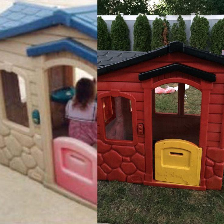 Best 25 Little Tikes Playhouse Ideas On Pinterest