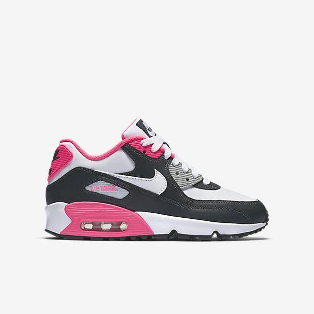 Nike Air Max 90 Leather (3.5y-7y) Kids' Shoe