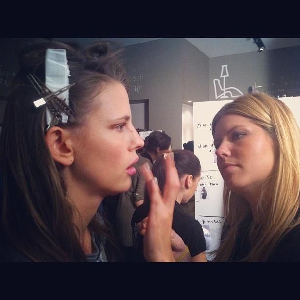 TONI & GUY Fashion Week backstage