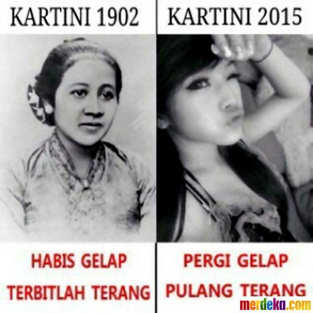 Beda Kartini 1902 dan 2015