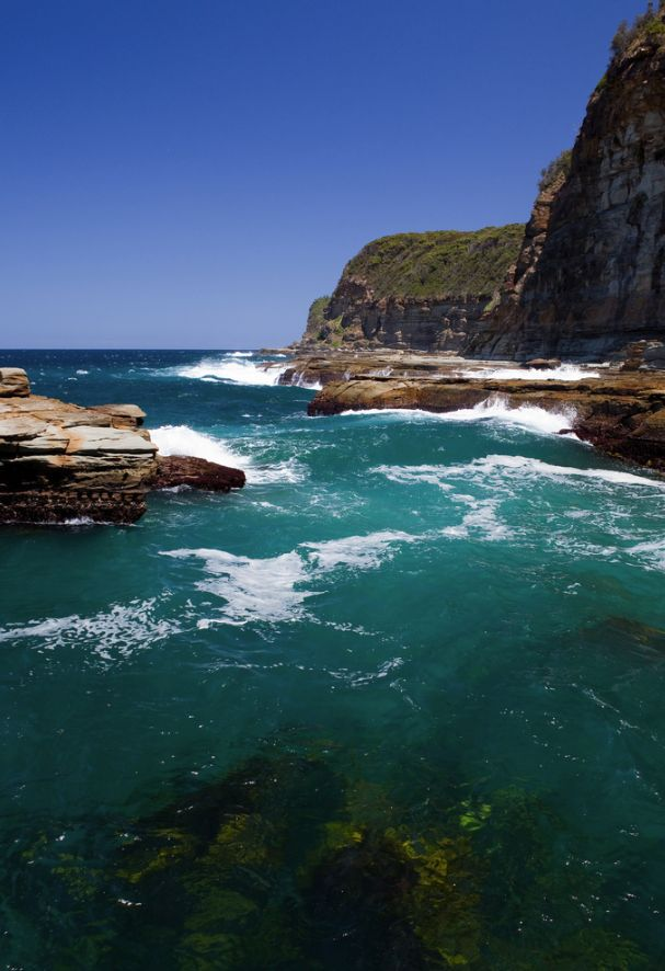 North Avoca Beach, Gosford, NSW Australia Just perfect...the waves dash and we feel amazing.