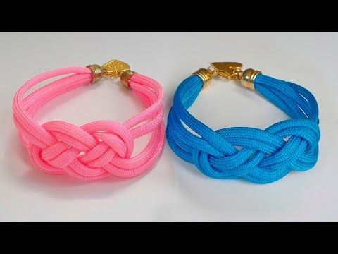 PULSERA NUDO MARINERO - YouTube