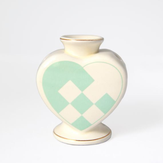 Pastel Heart Vase