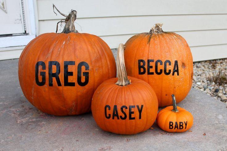 pumpkin announcement | Baby Announcement Idea - Pumpkins Favorite idea | 2nd: