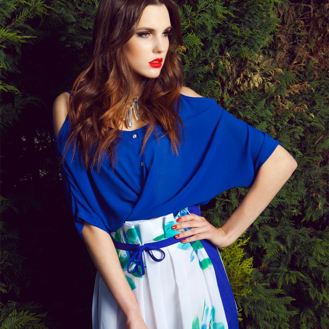 Blue Dress Sorcha Design | Apparel | Upstored