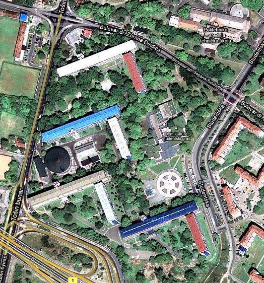 studenjak beograd mapa 23 besten Dom kulture
