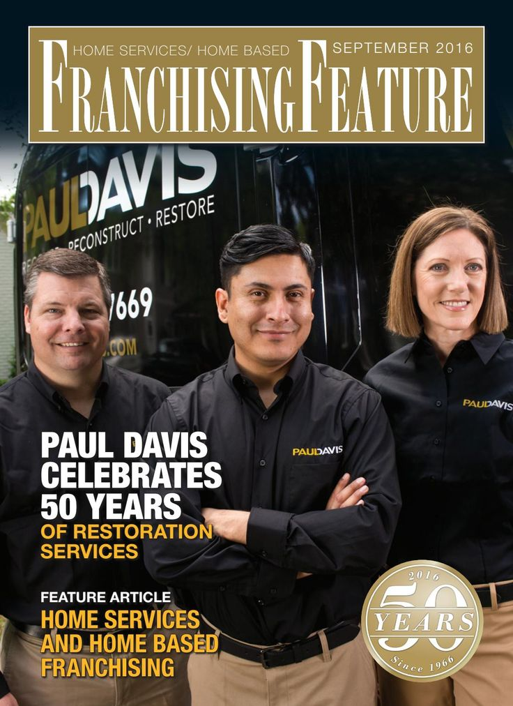 Franchising USA feature: Home Services/Home based franchising September 2016…