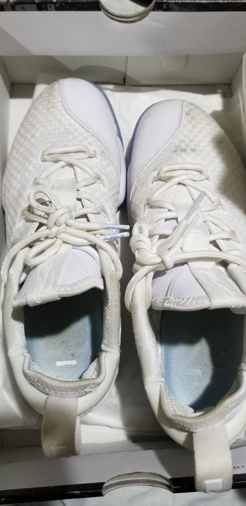 27a134f68d2a Nike Lebron James XIV 8 Low White Ice Basketball 878636-101 New  150 Mens 8   fashion  clothing  shoes  accessories  mensshoes  athleticshoes  ad (ebay  link)