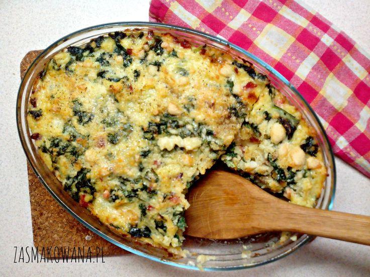 Zapiekanka ziemniaczana z gorgonzolą i jarmużem http://www.zasmakowana.pl/zapiekanka-ziemniaczana-z-gorgonzola-i-jarmuzem/