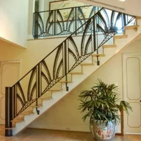 Staircase Railing Design. | Best Home Design Living Room 2014 Part 41