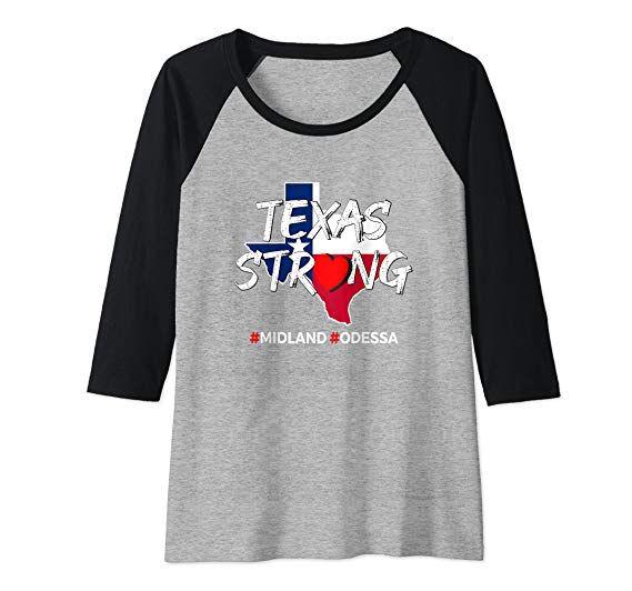 Amazon.com: Midland Odessa West Texas Strong Women Men