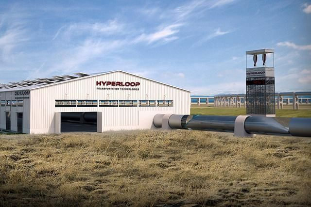 Construction of the first Hyperloop test track is expected to start next year in California