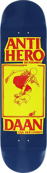 "Anti Hero Skateboards Daan Van Der Linden Lance II Skateboard Deck - 8.12"" x 31.97"""