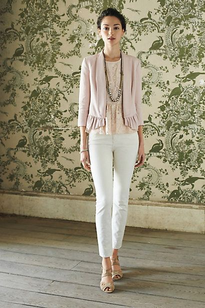 [Ruffled Calin Blazer by Anthropologie]