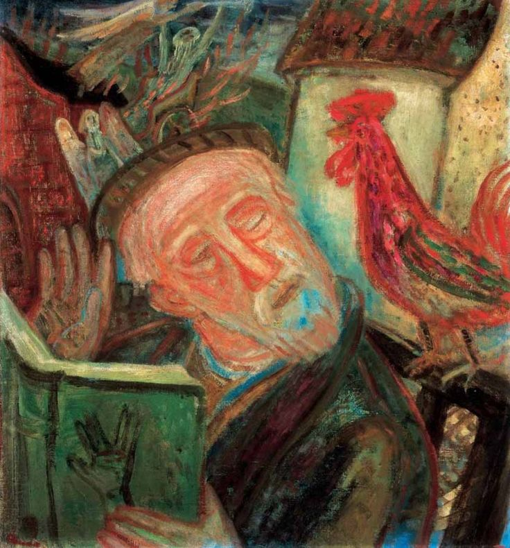 amos-imre-almodo-rabbi-dreaming-rabbi-1938.jpg (1010×1085)
