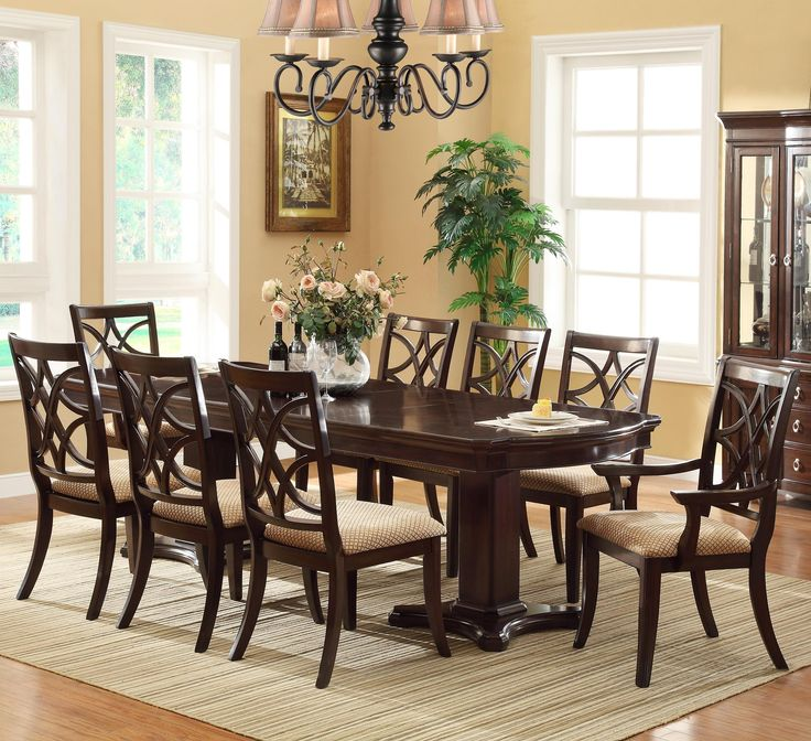 38 best for the home dining room images on pinterest for Non traditional dining room chairs