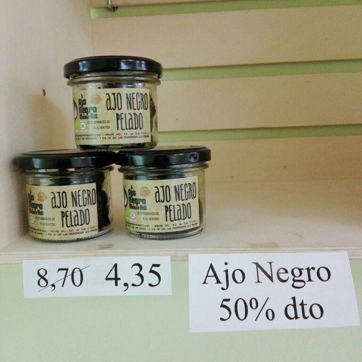 Oferta Ajo negro 50%dto  www.camposdealoe.es