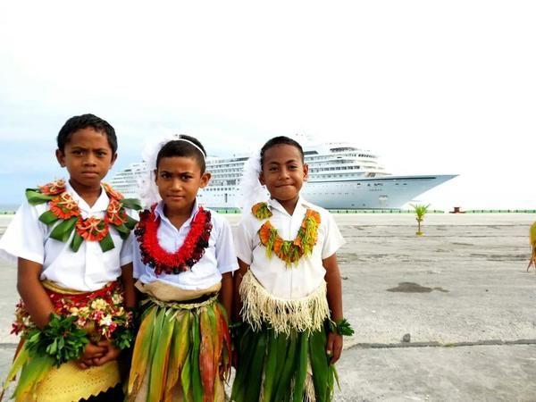 Tongan national attire.