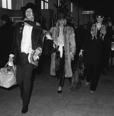 Mick Jagger and Keith Richards